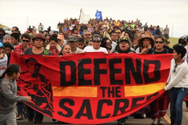 Protect the Sacred - NoDAPL - Getty Images